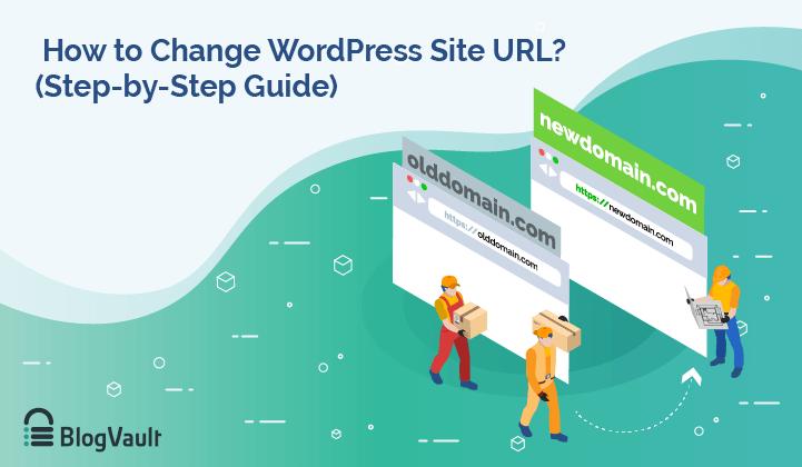 change wordpress website url