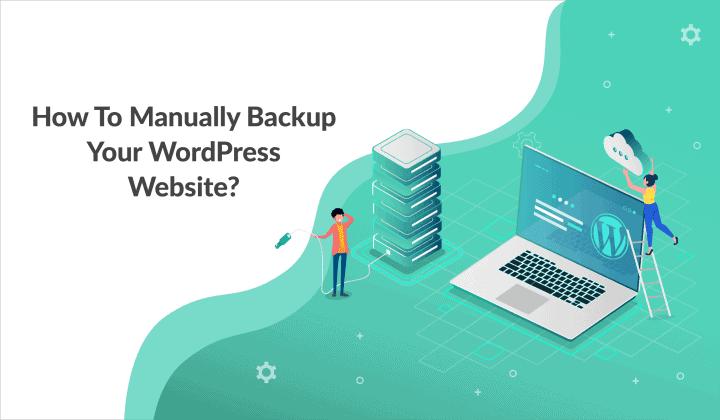 manually backup wordpress website