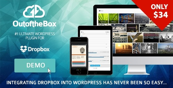 out of the box dropbox backup plugin for wordpress