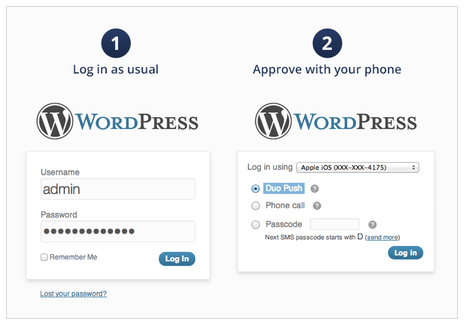 Duo - Two Factor Authentication for WordPress