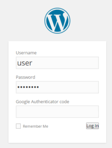 Google Authenticator - Two Factor Authentication for WordPress