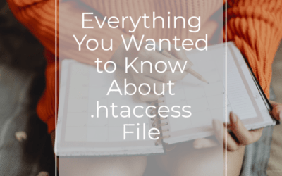 Everything You Wanted to Know About .htaccess File