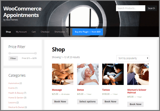 WooCommerce Appointments