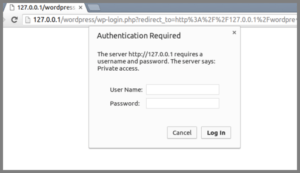 http authentication protect wp-login.php