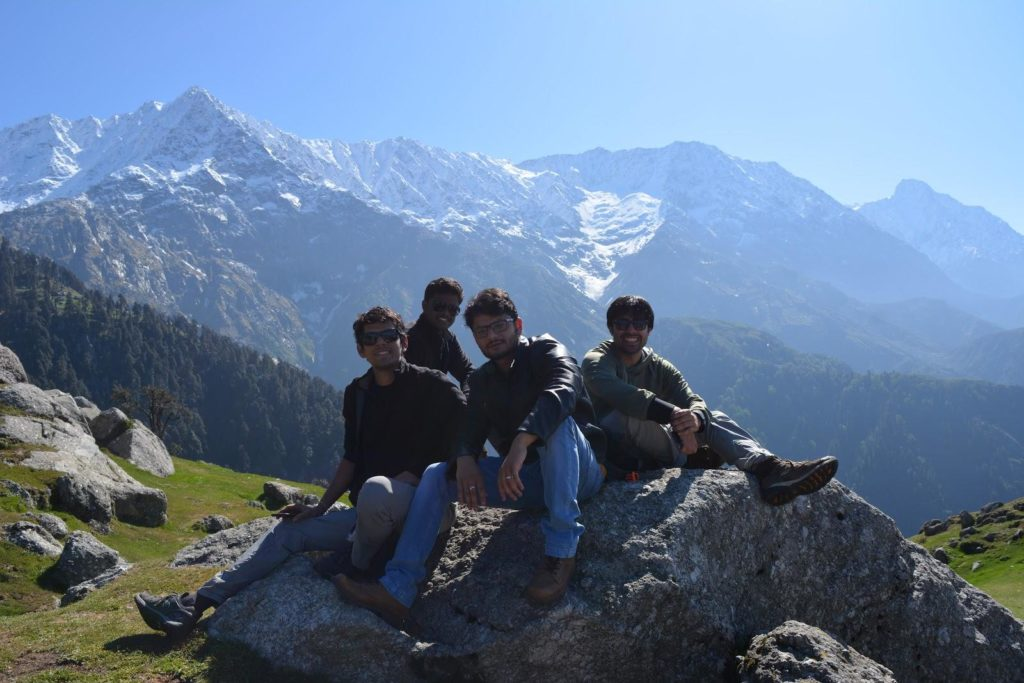 Team BlogVault at Triund.
