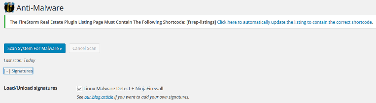 NinjaFirewall has an interesting feature called Anti-Malware, that allows you to add custom malware signatures.