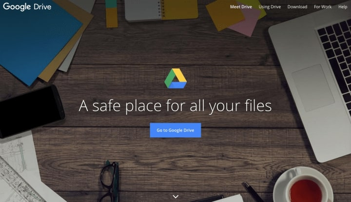 store backup to google drive