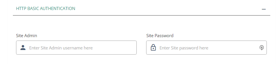Have you enabled HTTP Basic Authentication on your site?