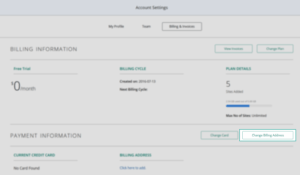 Account Settings_Billing and Invoices_Change Address