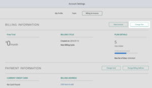 Account Settings_Billing and Invoices_Change Plan