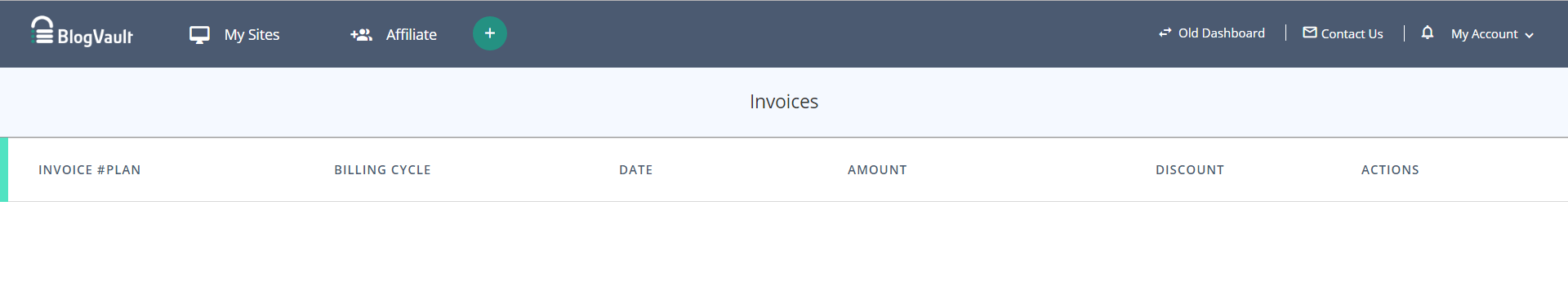 Account Settings_Billing and Invoices_View Invoices_