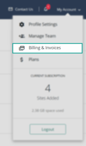 My Account_Billing & Invoices