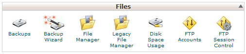 Go to cPanel--> Files--> FTP Accounts