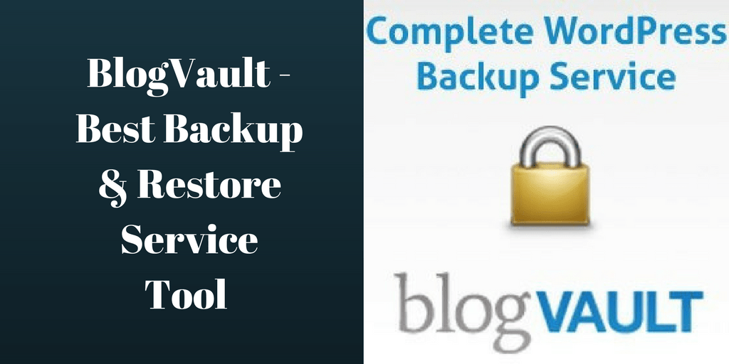 BlogVault - Best Backup & Restore Service  Tool