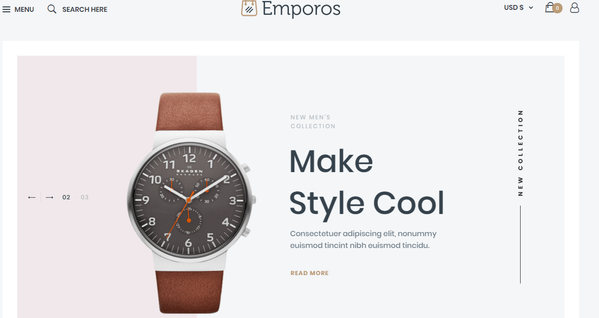 09 Emporos WooCommerce Theme Review