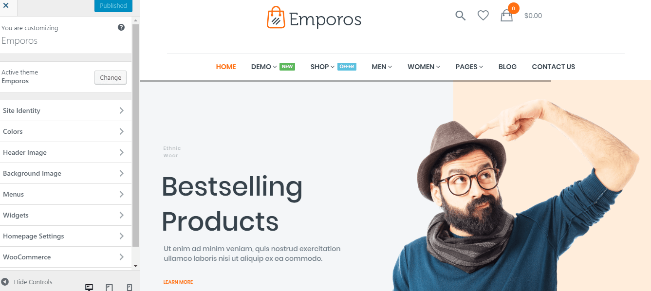 17 Emporos WooCommerce Theme Review