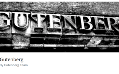 A Roundup of all Gutenberg reactions