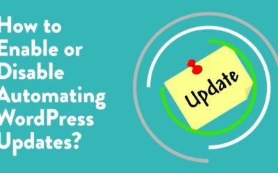 How to Enable or Disable Automatic WordPress Updates?