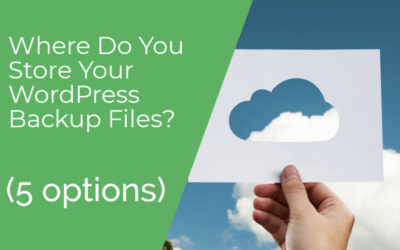 Where Do You Store Your WordPress Backup Files? (5 Options)