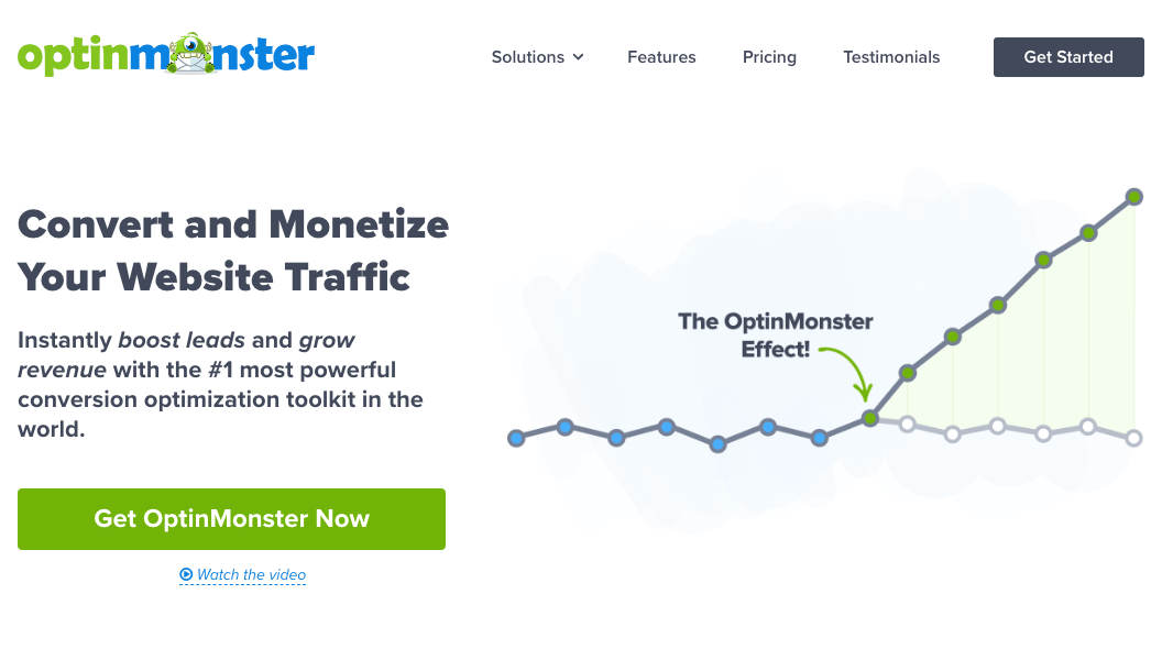 OptinMonster - lead generation software
