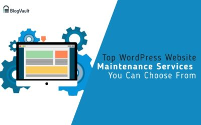 Top 5 WordPress Maintenance Services to Choose From