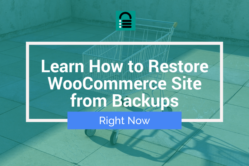 Restore WooCommerce Backups