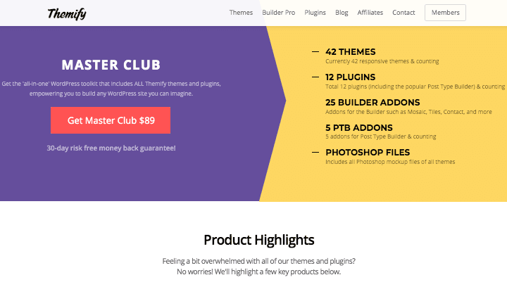 Themify Homepage