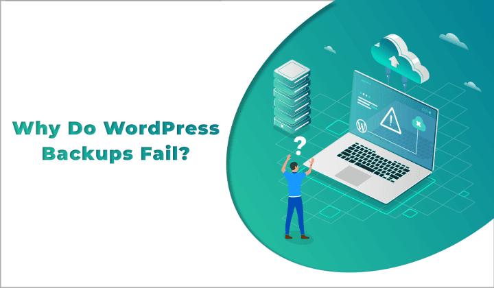 wordpress backups fail