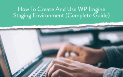 How To Create And Use WPEngine Staging Environment (Complete Guide)