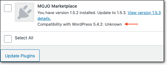 Check PHP compatibility before you update any plugin