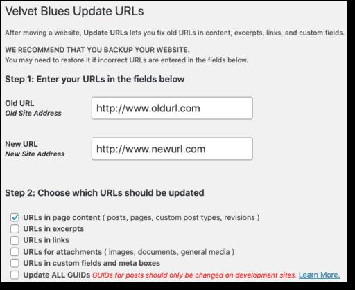 Velvet Blues Update URL