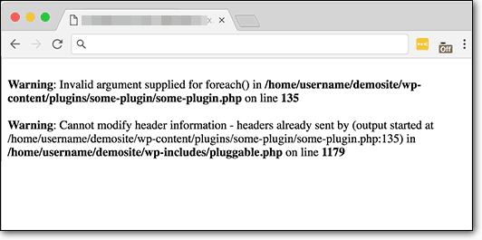 Pluggable.php Error