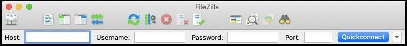 Connect to Hosting Account via Filezilla