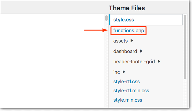 Modifying The WordPress Functions.Php File