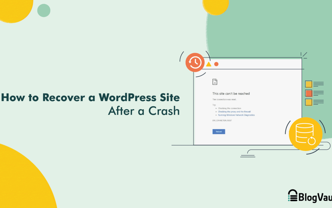 How to Easily Recover a WordPress Site After a Crash